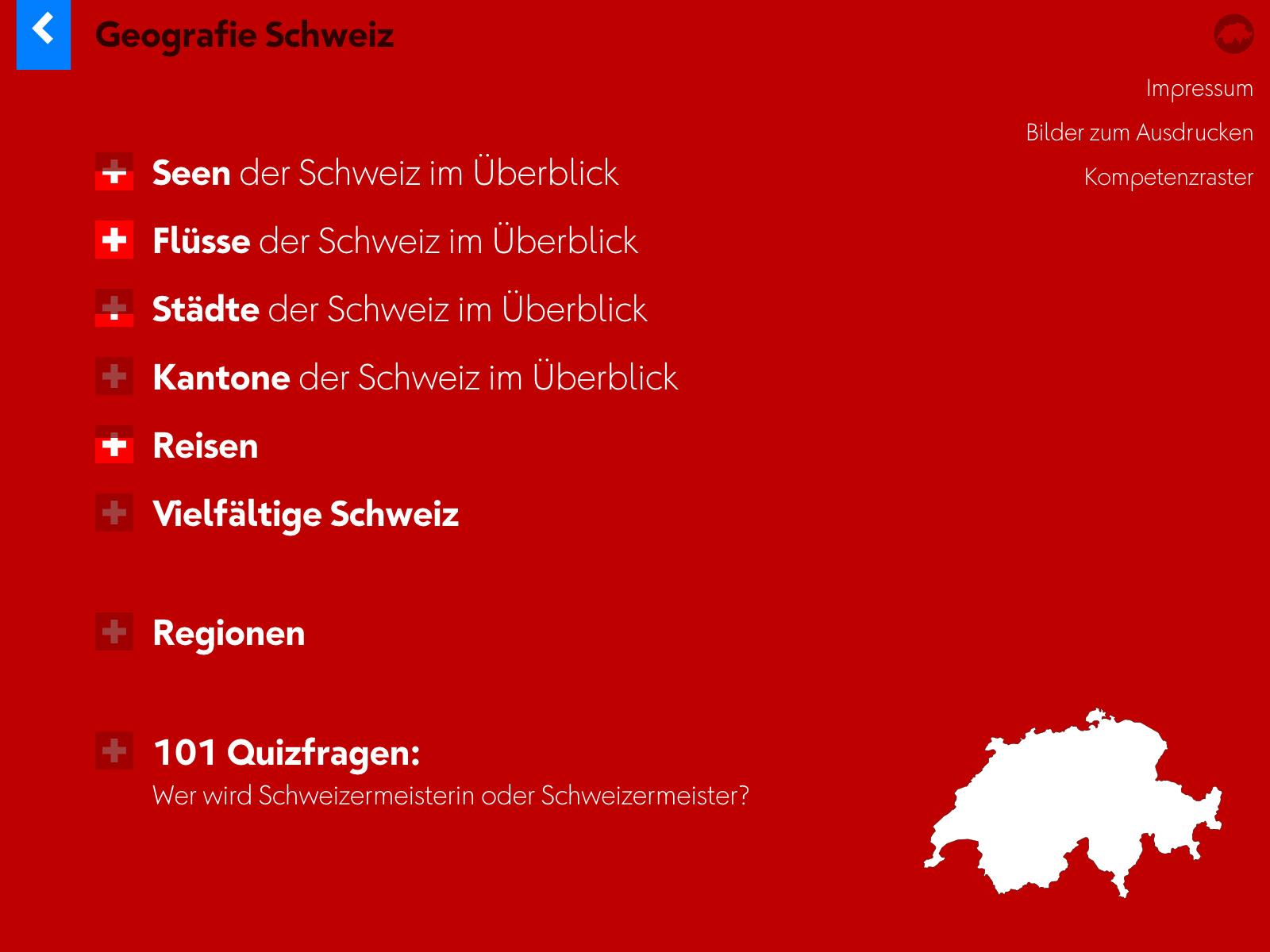 Geografie Schweiz Background 1