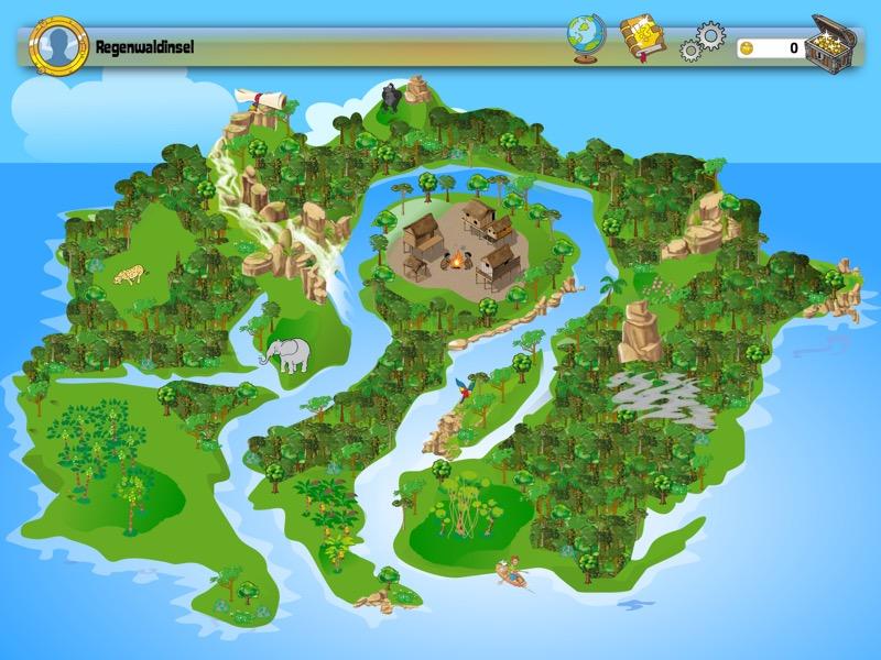 JUNIOR-Xplore Regenwaldinsel Background 1