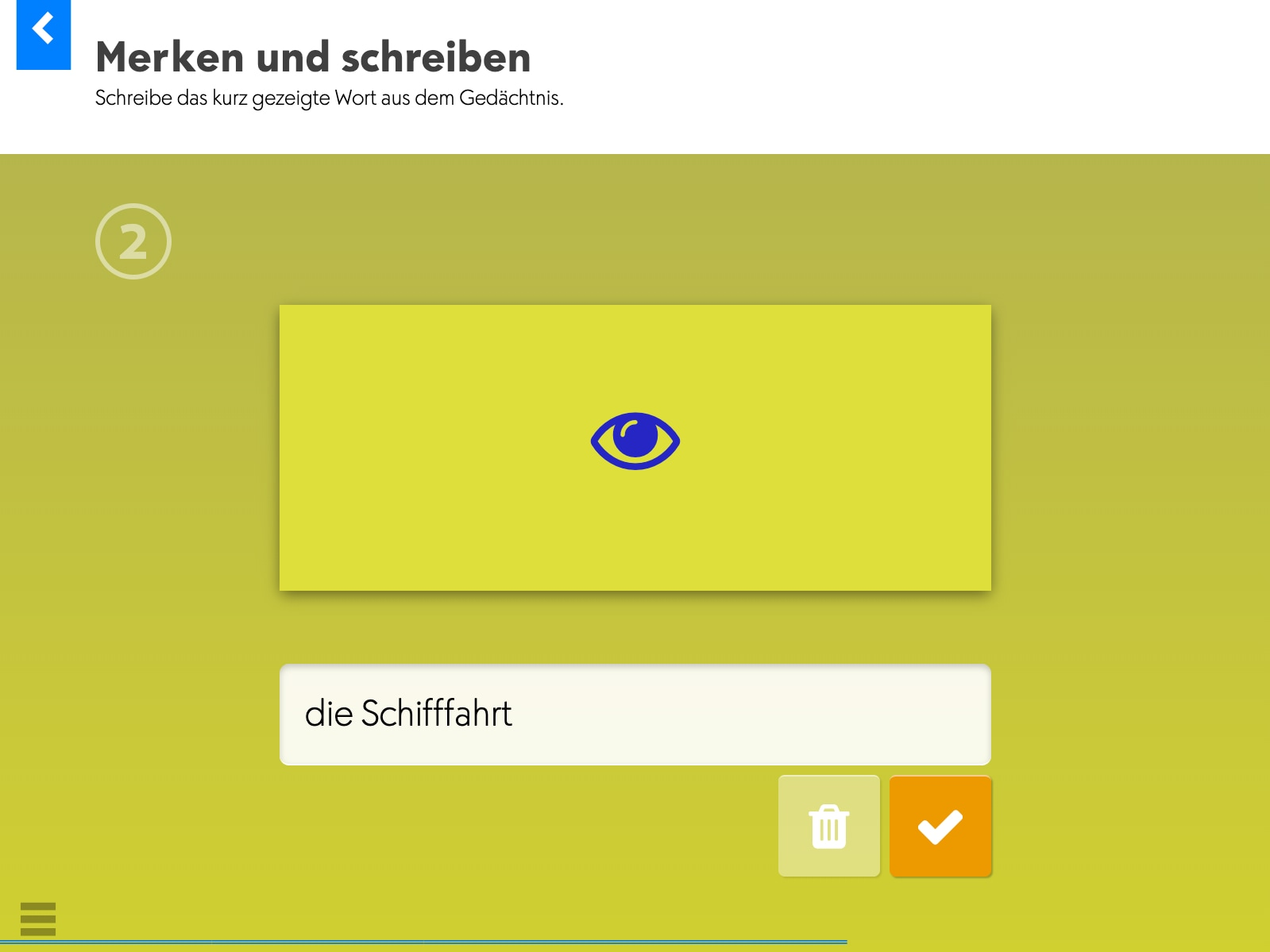 Wortkartei: Deutsch Screenshot 2
