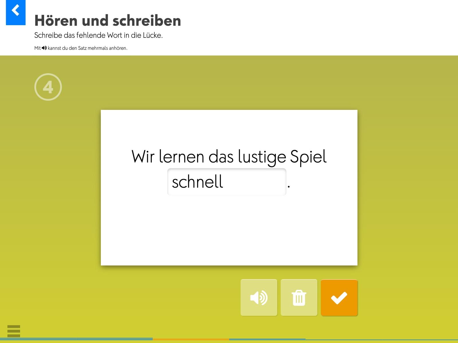 Wortkartei: Deutsch Background 3