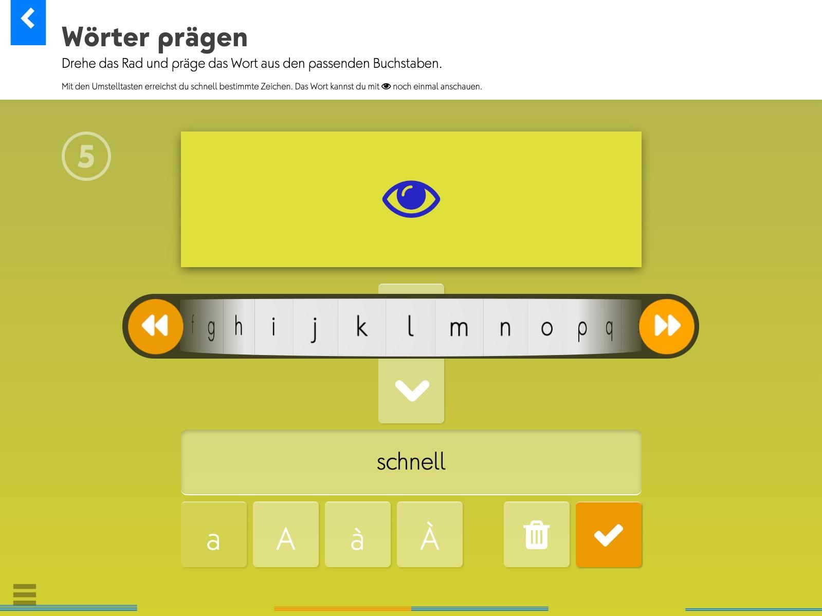Wortkartei: Deutsch Background 4