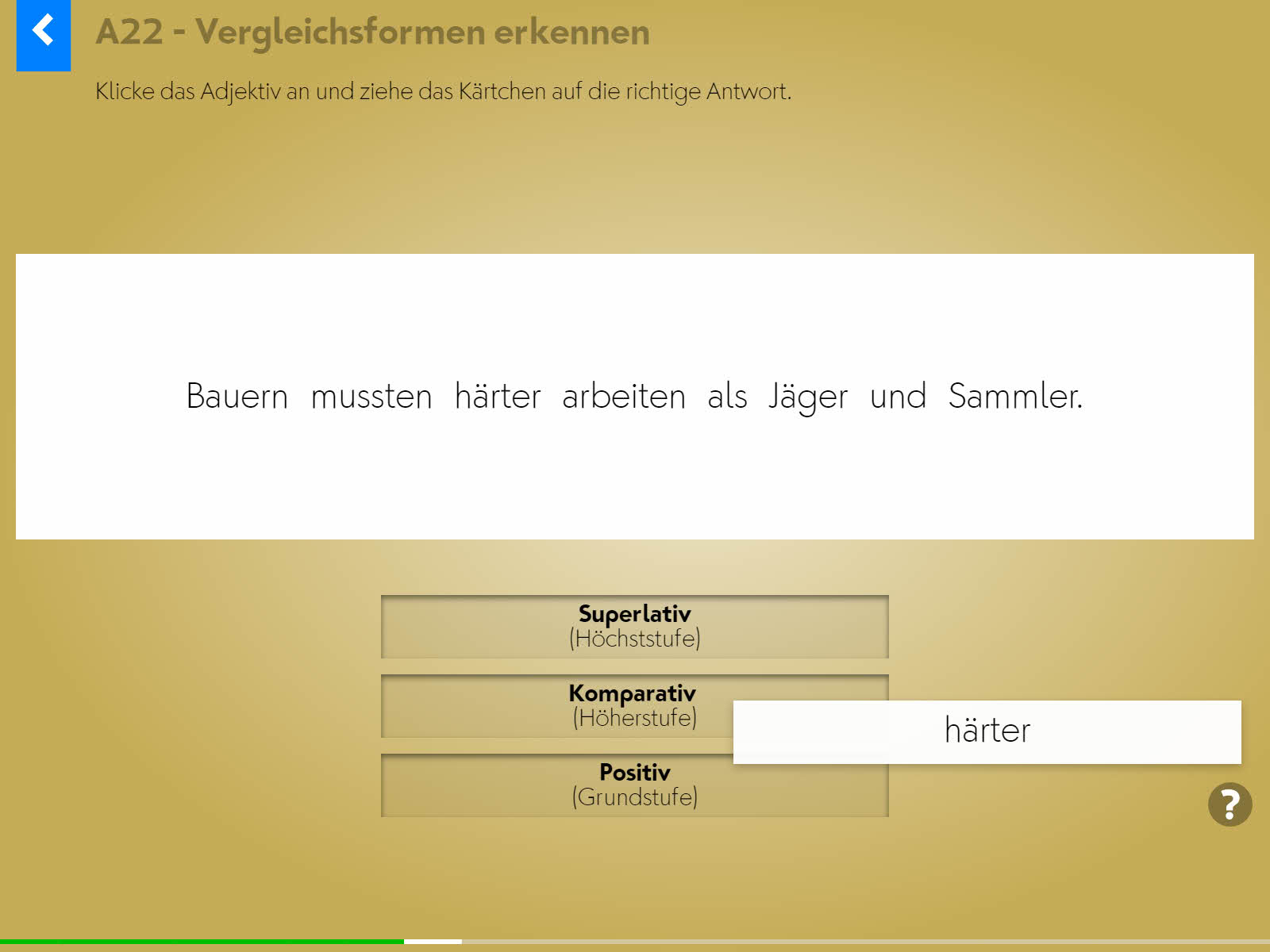 Wortgrammatik: Adjektive Screenshot 3